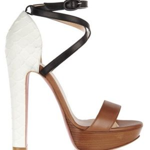 Christian Louboutin Summerissima Python Sandals